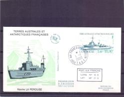 T.A.A.F - Navire La Perouse - FDC - Port Aux Français Kerguelen 1/1/2000   (RM11424) - Lettres & Documents