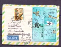 Brasil - Pesquisas Cientificas Na Antartica - Santo Anastacio 14/4/88  (RM11428) - Timbres
