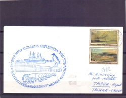 RSA - Antarktis Expedition  - Fischereiforschungsschiff -  Kaapstad 30/4/76   (RM11429) - Stamps