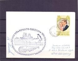 Falklands Islands  - Antarktis Expedition  - Fischereiforschungsschiff - Port Stanley   (RM11430) - Stamps