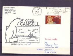 Canada - CCGS Camsell - Arctic Patrol No. 14 - Victoria 15/1/1974    (RM11434) - Timbres