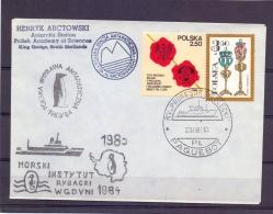 Polska - R/v Profesor Sieplecki - Polska Stacia Antarkiyczna -  22/10/83  (RM11436) - Timbres