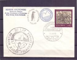 Polska - R/v Profesor Sieplecki - Polska Stacia Antarkiyczna -  20/2/84  (RM11437) - Stamps
