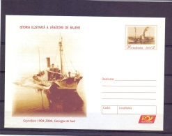 Romania - Istoria Ailustrata A Vanatorii De Balene   (RM11476)