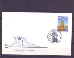 Peru - Uros En Balsa De Totora - Lima 12/5/95    (RM11479) - Ships