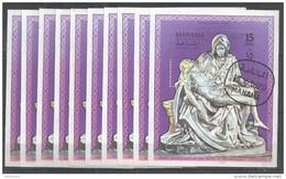 10x MANAMA - Art - Sculpture - Michelangelo Pieta - CTO