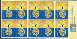 Australia 2005 The 100th Anniversary Of The Rotary International.Booklet ( Self Adhesive Stamp ).MINT.MNH