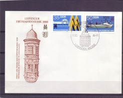 D.D.R. - Leipziger Frühjahrsmesse  1986  - Berlin 11/3/86  (RM11594) - Bateaux