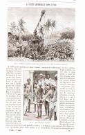 LA PLUIE ARTIFICIELLE DANS L' INDE    1892 - Cultural
