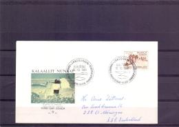 Gronland - FDC -  Ilulissat 15/10/1981  (RM11811)