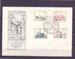 D.D.R. -  Hochseefischerei - Rostock 10/4/61  (RM11832) - Fishes
