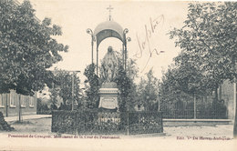 GIJSEGEM / GYSEGEM / AALST / PENSIONAAT / HET MONUMENT  1905 - Aalst