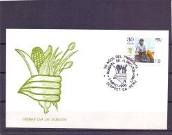 Peru - FDC - 3/5/1995     (RM11880) - Poissons