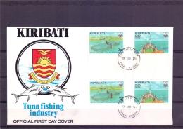 Kiribati - Tuna Fishing Industry - FDC - 19/11/81  (RM11921) - Fishes