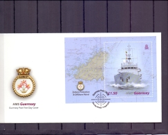 Guernsey -  Fishery Protection And Offshore Patrol - FDC - 10/4/2003    (RM11959)