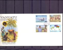 Vanuatu -  FDC -  Port Vila 14/3/83   (RM11960)