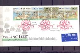 Australia -  The First Fleet - FDC -  Sydney  26/1/1988  (RM11963)
