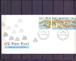 Australie - The First Fleet - FDC - Mortdale 13/10/1987  (RM12065)