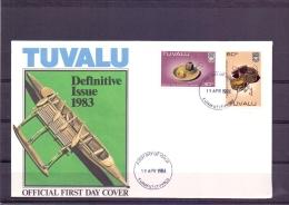 Tuvalu - FDC -  Funafuti 19/4/1984   (RM12066)