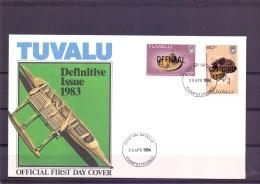 Tuvalu - FDC -  Funafuti 30/4/1984   (RM12067)