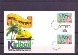 Kiribati - FDC - Tarawa 23/10/82   (RM12068)