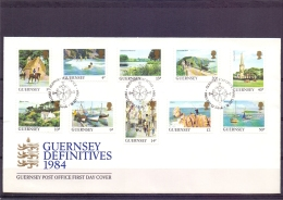 Guernsey -  FDC - 18/9/1984  (RM12070)