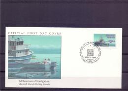 Marshall Islands -fishing Vessels - FDC - Majuro 19/4/1994   (RM12074)