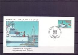 "Marshall Islands -US Coast Guard Vessel ""Assateague"" - FDC - Majuro 5/5/1995   (RM12075)"