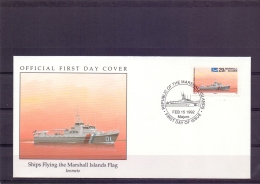 Marshall Islands -  Ionmeto - FDC - Majuro 15/2/1992 (RM12077)
