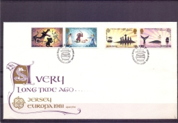Jersey - FDC - 7/4/1981  (RM12084)