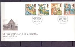 Great Britain - Missions Of Faith - FDC - Edinburgh 11/3/1997  (RM12090)