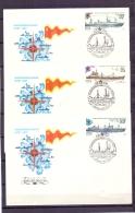 Noyta CCCP - FDC - Mockba 20/7/1983   (RM12105)