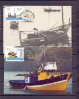 Madeira - Barcos Tipicos - Funchal 24/8/1990   (RM12107)