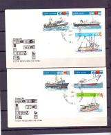 Cuba - Flota Pesquera De Cuba - FDC -  La Haba 30/8/1978  (RM12109)