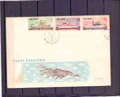 Cuba - Flota Pesquera - FDC -  1/3/1965  (RM12110)