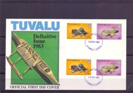 Tuvalu - FDC - Funafuti 14/3/1983   (RM12132)