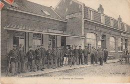 """1908 Wattrelos """" Douane Et Frontière """" - Bureaux Des Douanes -( Vers Baccarat ) - Wattrelos"""