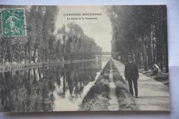 LAROCHE-MIGENNES-le Canal Et La Passerelle-animee - Migennes