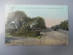 CPA  ETATS UNIS WESTHAMPTON BEACH VIEW OF MAIN STREET - Long Island