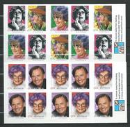 Australia 2006 Australian Legends.Barry Humphries - Comedian, Actor.2 Booklet I & II.( Self Adhesive Stamp ).MINT.MNH