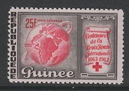 TIMBRE NEUF DE GUINEE - CENTENAIRE DE LA CROIX-ROUGE INTERNATIONALE N° Y&T PA 35