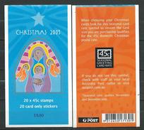 Australia 2003 Christmas.Booklet ( 20 X 45 Cent.Self Adhesive Stamp ).Navidad.Noel.MINT.MNH