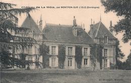 Cpa 24   Chateau De La Môle Par Montpont - Francia