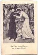 Devotie - Devotion - Frere De Charité Charleroi 1930 - Faire-part