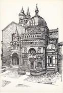 Cartolina - Cappella Colleoni E S. Maria Maggiore - Bergamo.
