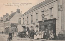 78 - Vallée De Chevreuse - Chevreuse (S-et-O.) Hôtel Du Grand Courrier - Rue De La Mairie. - Animée.