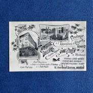 CPA-84-AVIGNON-Souvenir De L'exposition 1907-Chemisette Dellière-Gant Perrin-12 Rue Vieux Sextier