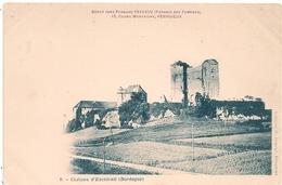 Cpa 24   Chateau D'Exideuil - Francia
