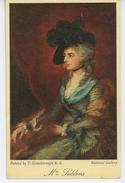 """FEMMES - FRAU - LADY - Portrait De Mrs SIDDONS Par T. GAINSBOROUGH - Edit RAPHAEL TUCK - """"Famous Pictures """" - OILETTE - Tuck, Raphael"""