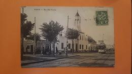 Tunisie - Tunis  - Rue Bab Souika - Tramway - E. D'Amico Editeur - Túnez